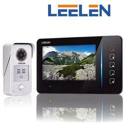 """Leelen LEELEN Wideodomofon 7"""" N60/No15nc+3xbrelok (z czytnikiem) N60_No15nc - Autoryzowany partner Leelen, Automatyczne rabaty."""