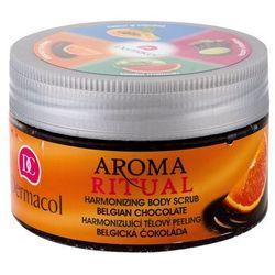 Dermacol Aroma Ritual Belgian Chocolate peeling do ciała 200 ml dla kobiet