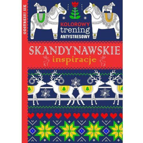Książki dla dzieci, Kolorowy trening antystresowy Skandynawskie inspiracje - Dostawa 0 zł (opr. miękka)