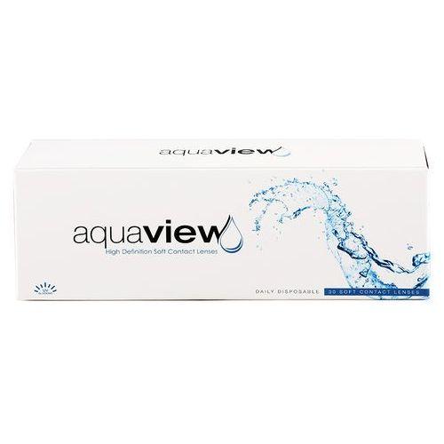 Soczewki kontaktowe, AquaView Daily 90 szt.