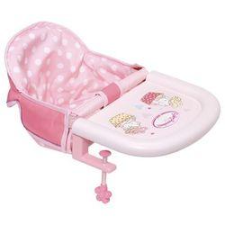 Baby Annabell krzesełko do karmienia mocowane do stołu