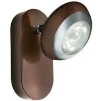 Oprawy, Massive Sepia Oprawa Punktowa LED Brązowa 1X3W 230V