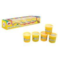 Kreatywne dla dzieci, BRIMAREX Plastociasto 5 kol. świecących