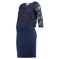 MAMALICIOUS MLBLACKIE JUNE DRESS Sukienka z dżerseju black iris