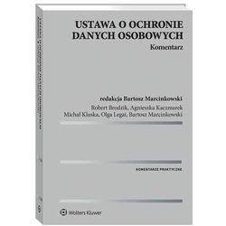 Ustawa o ochronie danych osobowych. Komentarz - Bartosz Marcinkowski - ebook