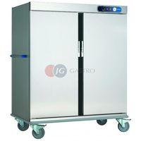 Wózki na żywność, Wózek bankietowy 2-drzwiowy grzewczy CCB-40