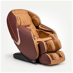 Fotel masujący Massaggio Eccellente 2 PRO (karmel-mahoń)