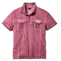 Shirt polo Regular Fit bonprix czerwony klonowy