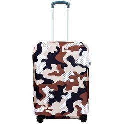 BG Berlin pokrowiec na średnią walizkę / rozmiar M / Camo Safari - Camo Safari
