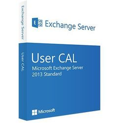 Exchange Server 2013 Standard User CAL 32/64 bit