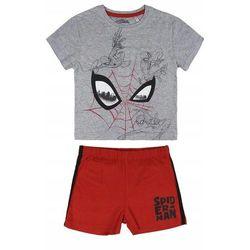 Disney piżama chłopięca Spiderman 104 szary/czerwony
