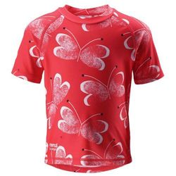 Reima koszulka do pływania Azores UV 50+ 92 czerwony - BEZPŁATNY ODBIÓR: WROCŁAW!