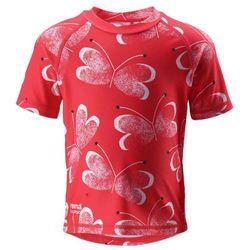 Reima koszulka do pływania Azores UV 50+ 98 czerwony - BEZPŁATNY ODBIÓR: WROCŁAW!
