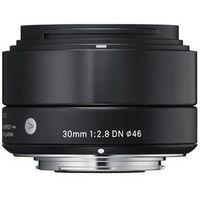 Obiektywy fotograficzne, Obiektyw SIGMA Digital A 30/2.8 DN Micro 4/3 (MFT) Czarny + DARMOWY TRANSPORT! + Zamów z DOSTAWĄ JUTRO!