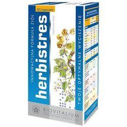 Herbistres (60 kaps.) - Suplement diety na stres. Optimum wyciszenia i spokoju. DARMOWA DOSTAWA OD 65 ZŁ