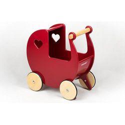 Wózek dla lalek Moover Czerwień strażacka