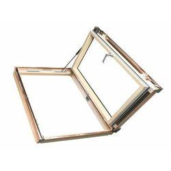 Okno dachowe wyłazowe FAKRO FWP U5 78x118 3-szybowe szarobrązowe