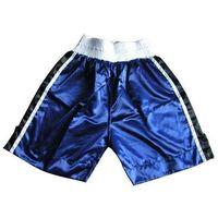 Pozostałe sporty walki, Spodenki bokserskie MASTERS - SBOX-1Q - niebieski