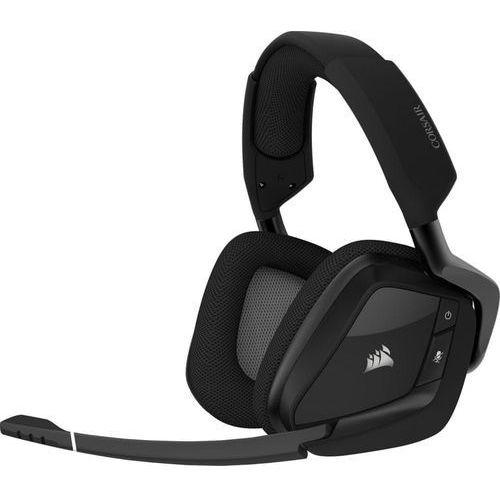 Pozostałe gry i konsole, Corsair słuchawki gamingowe Void RGB Elite Wireless, czarne (CA-9011201-EU)