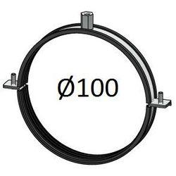 Obejma z uszczelką Średnice od DN 100-400 mm do rur Spiro Przewodów wentylacyjnych Średnica [mm]: 100