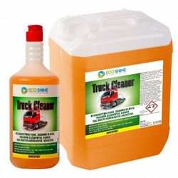 ECO SHINE-TRUCK CLEANER 10L -Wysokoaktywna piana, zasadowa do mycia ciężarówek. Zapach pomelo i cytrusów