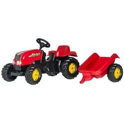 Rolly Toys Traktor na pedały Rolly Kid z przyczepą - BEZPŁATNY ODBIÓR: WROCŁAW!