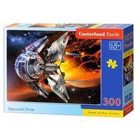 Rakiety i statki kosmiczne dla dzieci, Castor 300 ELEMENTÓW Statek kosmiczny