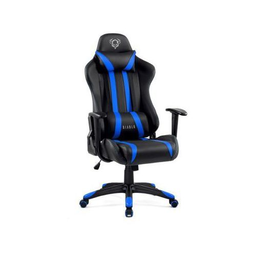 Fotele dla graczy, Fotel DIABLO CHAIRS X-One Czarno-niebieski