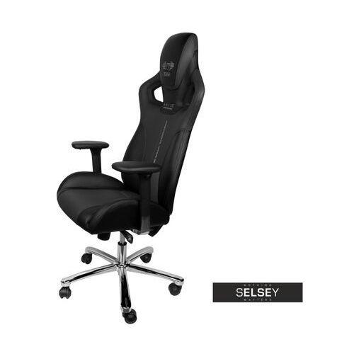 Fotele dla graczy, SELSEY Fotel gamingowy E-Blue Cobra czarny