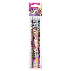 Ołówek z gumką STARPAK 335495 Barbie Super Księżniczki (4 sztuki)