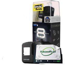GOPRO HERO 8 Black + zestaw akcesoriów / WYSYŁKA GRATIS / RATY 0% / TEL. 500 005 235