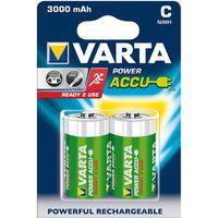 Akumulatorki, 2 x akumulatorki Varta R14 C R2U Ni-MH 3000mAh