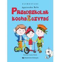 Książki dla dzieci, Przedszkolak kocha czytać. Elementarz (opr. broszurowa)