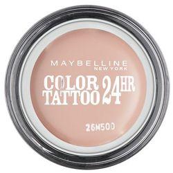 Maybelline Eyestudio Color Tattoo 24 HR cienie do powiek w kremie z matowym wykończeniem odcień 91 Crème De Rose 4 ml