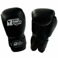 Rękawice do walki, RĘKAWICE BOKSERSKIE PROFight CZARNE R. 8