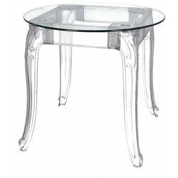 Stół Ghost 80cm transparentny