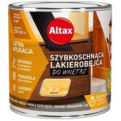 Lakierobejca szybkoschnąca do wnętrz Altax sosna 0,25 l