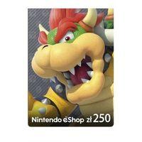 Klucze i karty pre-paid, Kod podarunkowy Nintendo 250zł