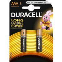 Baterie, Bateria DURACELL Basic LR03/AAA 2 szt.