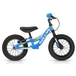 Rowerek biegowy Kellys KITE 12 RACE niebieski z hamulcem - Niebieski