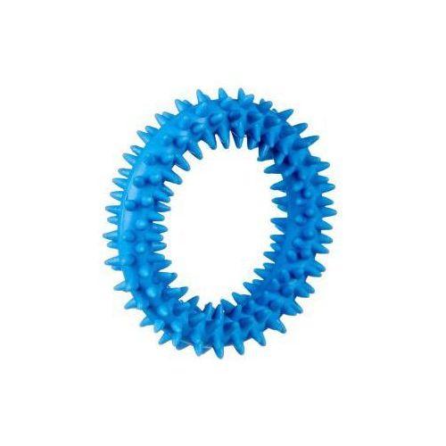 Grzechotki i gryzaki, Ring gryzak kauczukowy S - blue