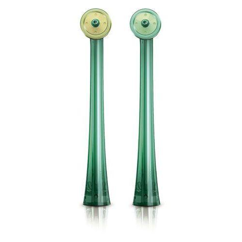 Końcówki do szczoteczek elektrycznych, Philips Sonicare AirFloss - Kolorowe końcówki do irygatora AirFloss HX8012/07 2szt