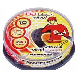CD-R VINYL 700MB x52 CAKE BOX 10