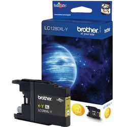 Brother oryginalny ink LC-1280XLY, yellow, 1200s, high capacity, Brother MFC-J6910DW