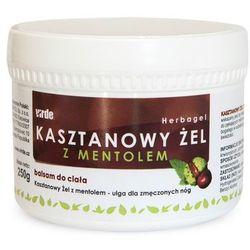 Żel kasztanowy z mentolem 250 g