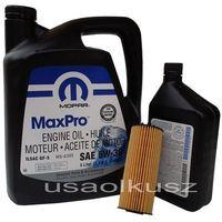 Oleje silnikowe, Olej MOPAR 5W30 oraz oryginalny filtr RAM 1500 3,6 V6 2013