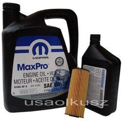 Olej MOPAR 5W30 oraz oryginalny filtr RAM 1500 3,6 V6 2013
