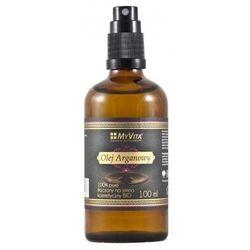 Olej arganowy kosmetyczny tłoczony na zimno BIO 100ml MyVita