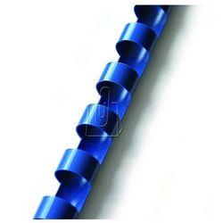 Grzbiety do bindowania 12,5mm niebieskie 100 sztuk