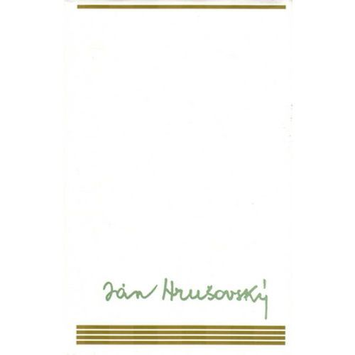 Pozostałe książki, Ján Hrušovský (Výber II) Ján Hrušovský